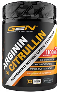 German Elite Nutrition Arginin + Citrullin Kapseln