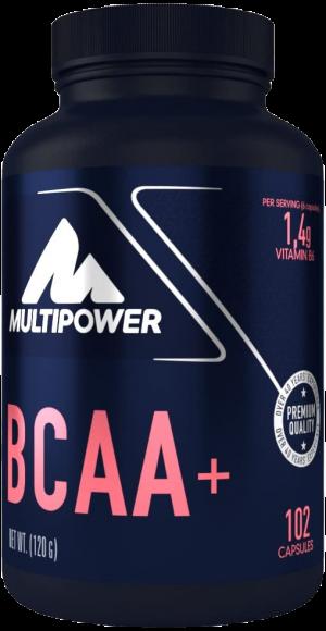 Multipower BCAA Kapseln in einer Supplement Dose
