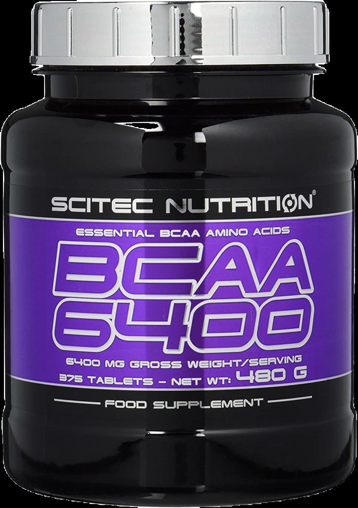 BCAA 6400 Kapseln von Scitec Nutrition in einer Dose