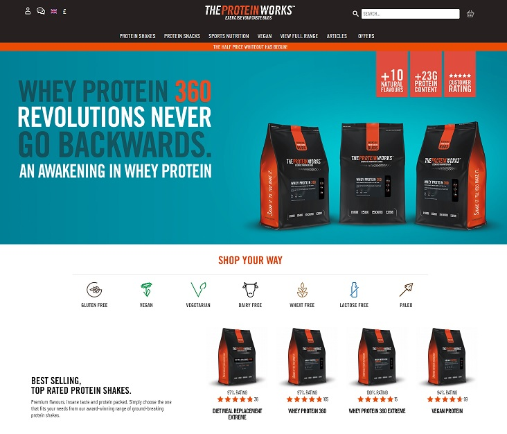 The Protein Works Onlineshop