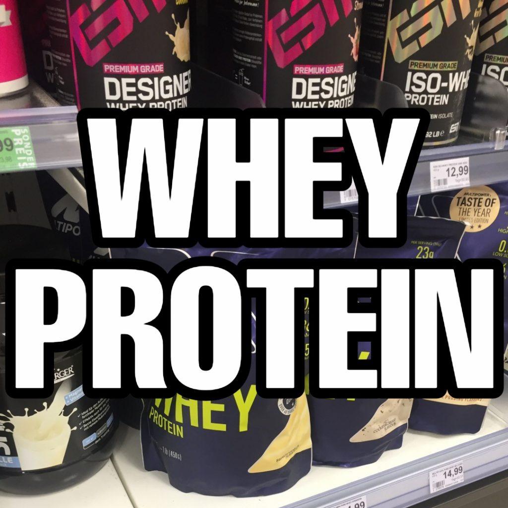 Whey Protein Test 2021: Die 20 besten Whey Proteine im Vergleich