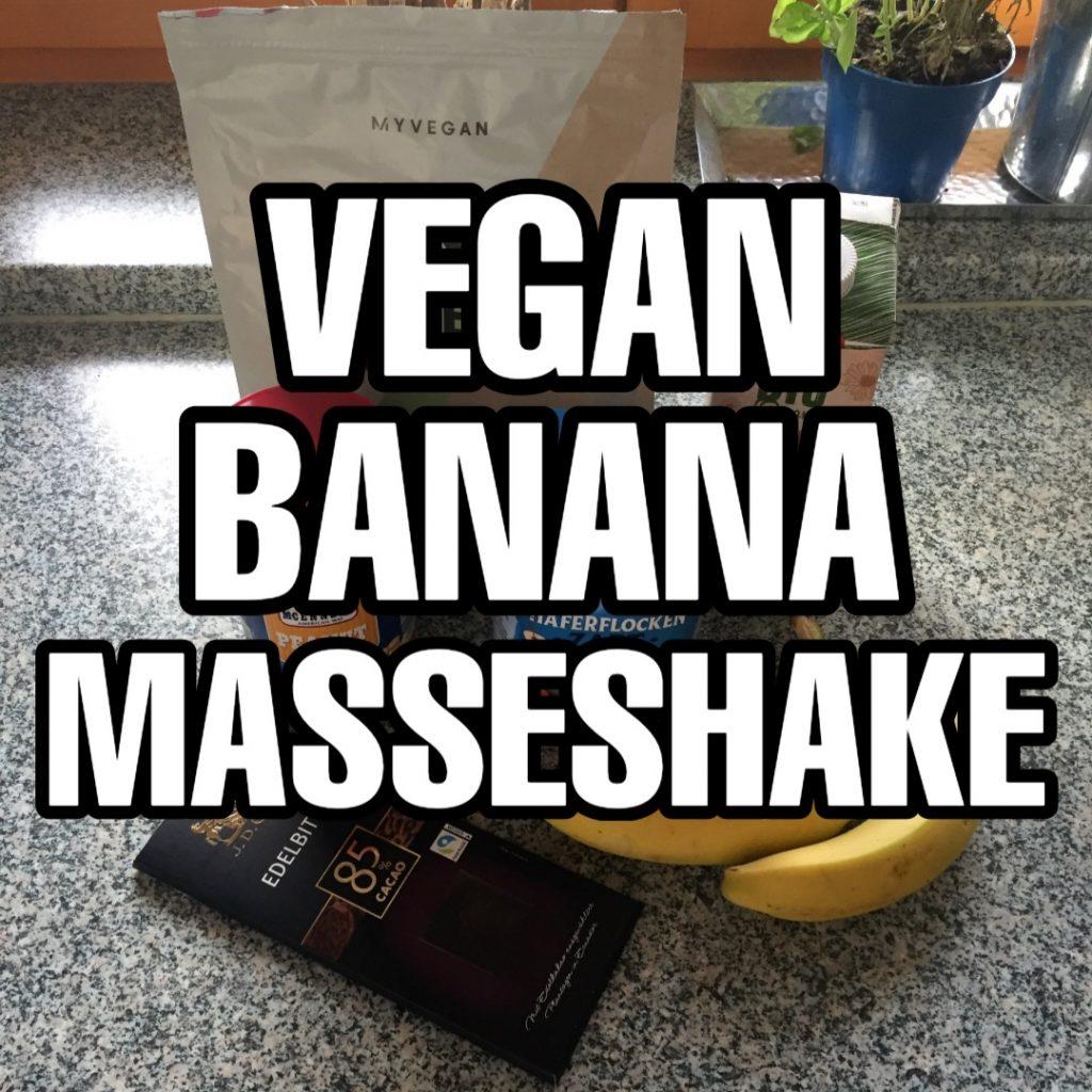 Veganen Mass Gainer selber machen