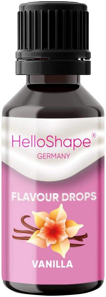 Hello Shape Flavour Drops Test & Vergleich