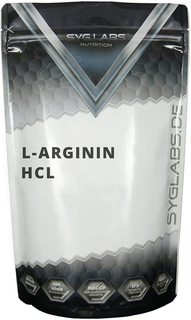 Syglabs L-Arginin Test & Vergleich