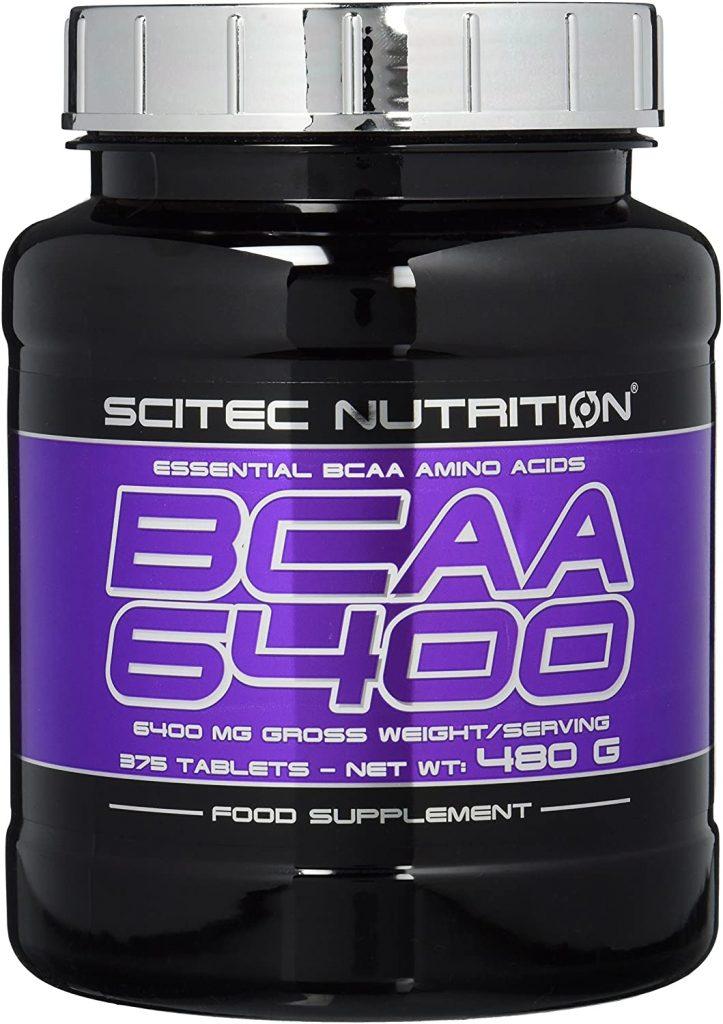 BCAA Kapseln von Scitec Nutrition in einer BCAA Dose