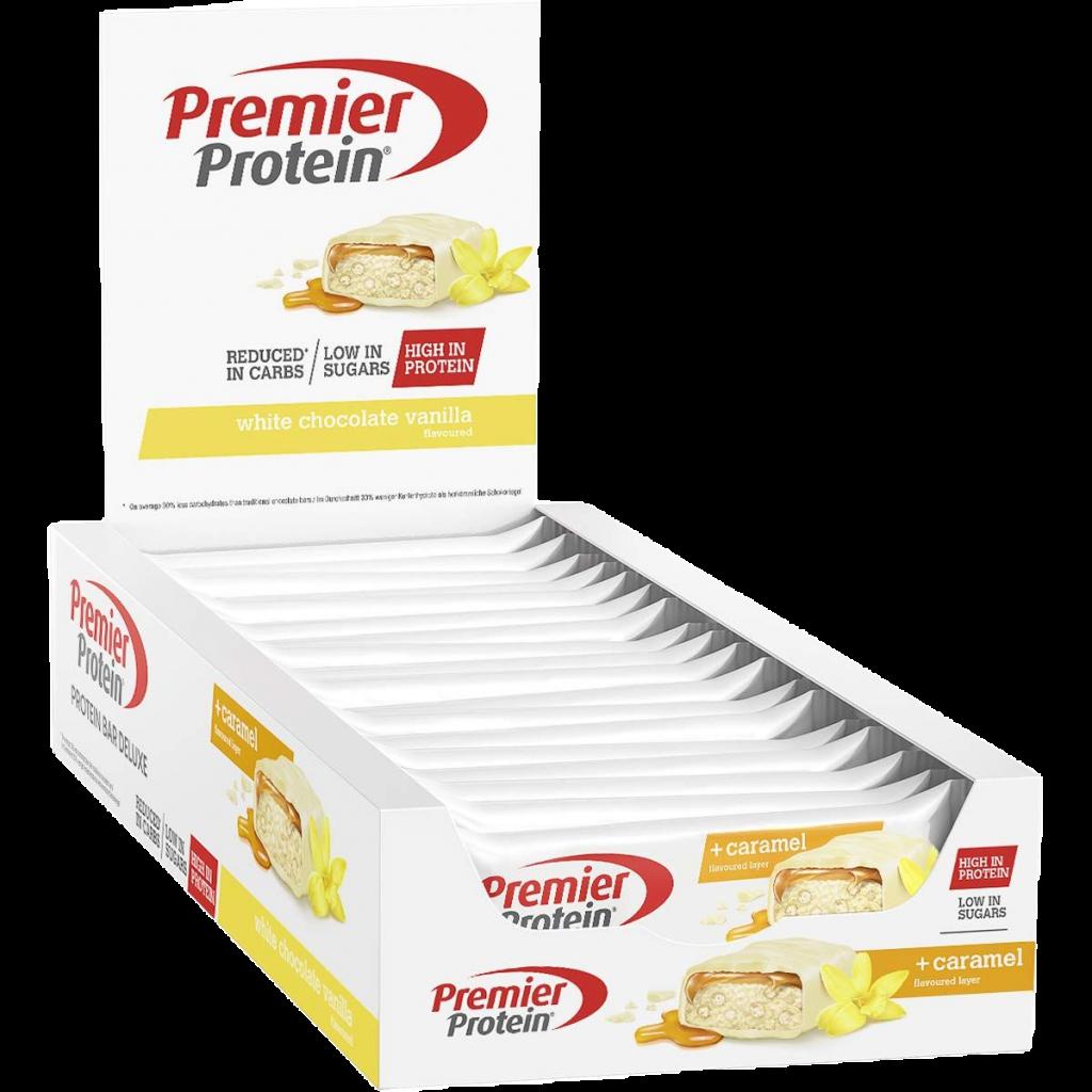 Premier Protein Deluxe Riegel Box