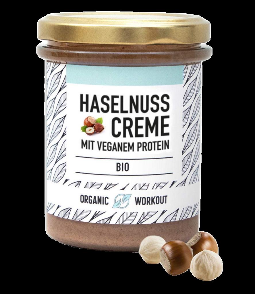 Haselnuss Protein Creme Organic Workout