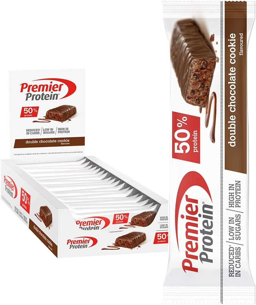 Premier Protein Bar Riegel Box